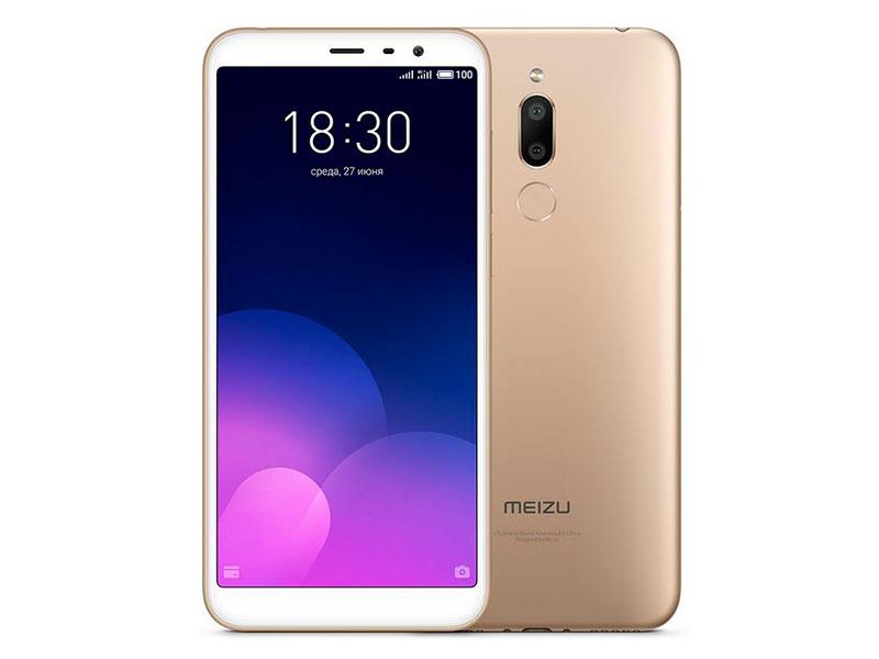 Сотовый телефон Meizu M6T 16Gb Gold