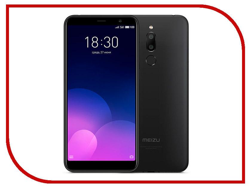 Сотовый телефон Meizu M6T 16Gb Black сотовый телефон lg m700 q6a 16gb black black