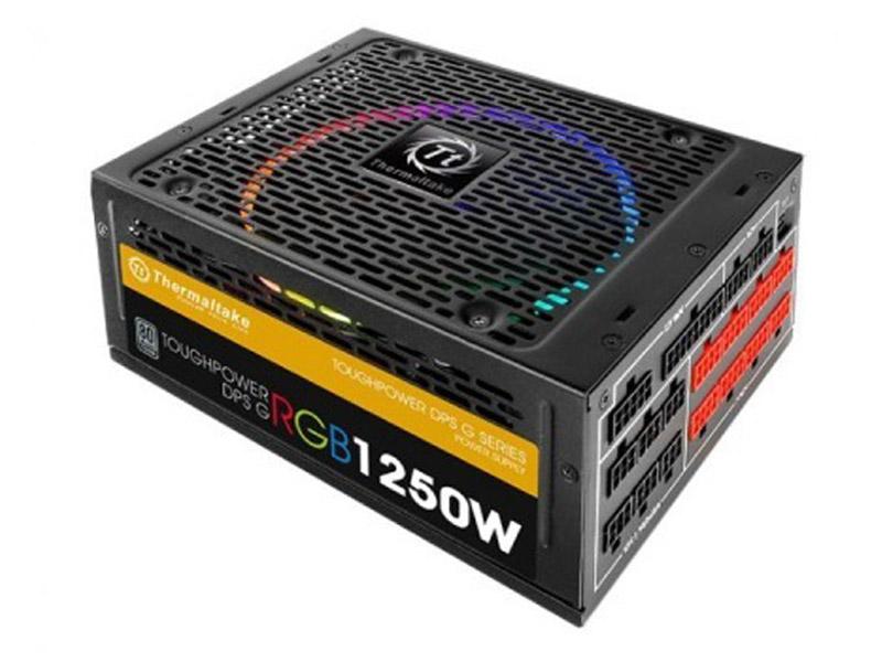 Блок питания Thermaltake Toughpower DPS G RGB 1250W Titanium PS-TPG-1250DPCTEU-T цены онлайн