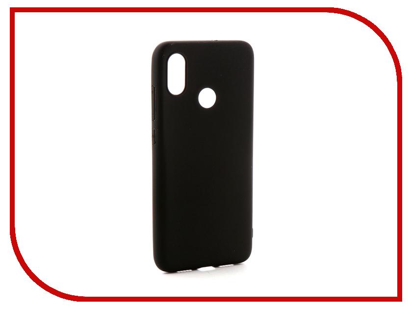 Аксессуар Чехол-накладка для Xiaomi Redmi Mi 8 Gecko Silicone Black S-GESKA-XMI8-BL аксессуар чехол накладка highscreen zera s black