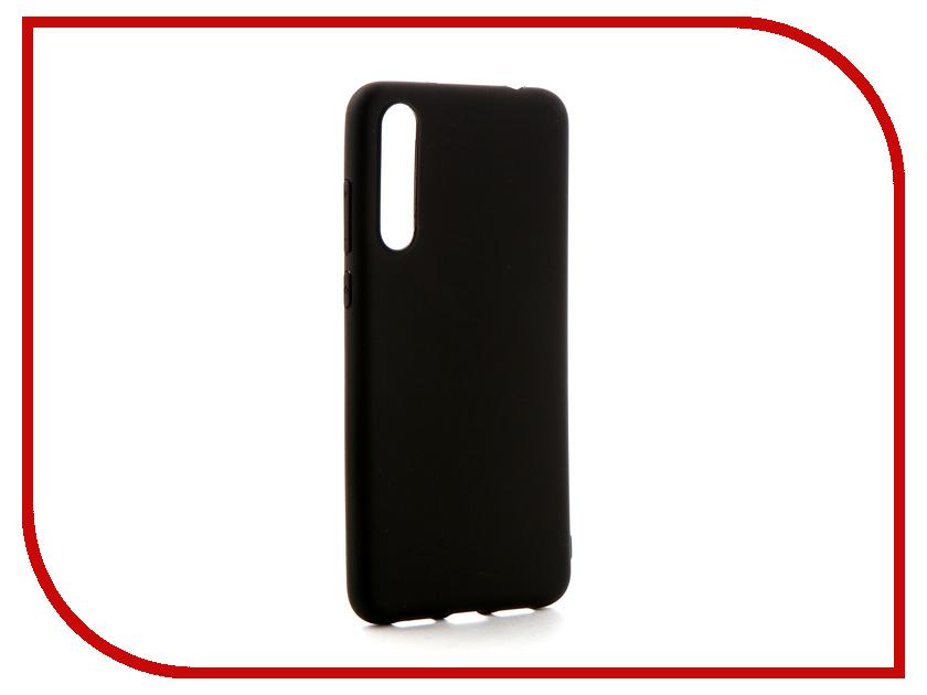 Аксессуар Чехол-накладка для Huawei P20 Pro Gecko Silicone Black S-GESKA-HAW-P20Pro-BL аксессуар чехол накладка для huawei honor 6x gecko silicone black s geska haw hon 6x bl