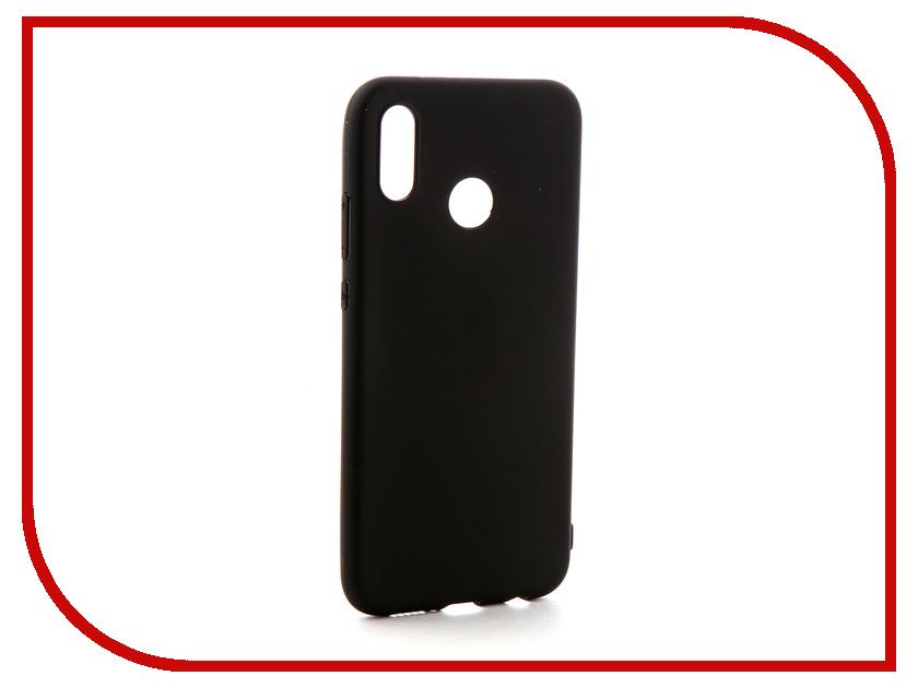 Аксессуар Чехол-накладка для Huawei P20 Lite Gecko Silicone Black S-GESKA-HAW-P20Lite-BL аксессуар чехол накладка highscreen zera s black