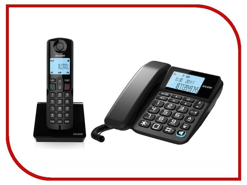 Радиотелефон Alcatel S250 Combo радиотелефон alcatel origin black
