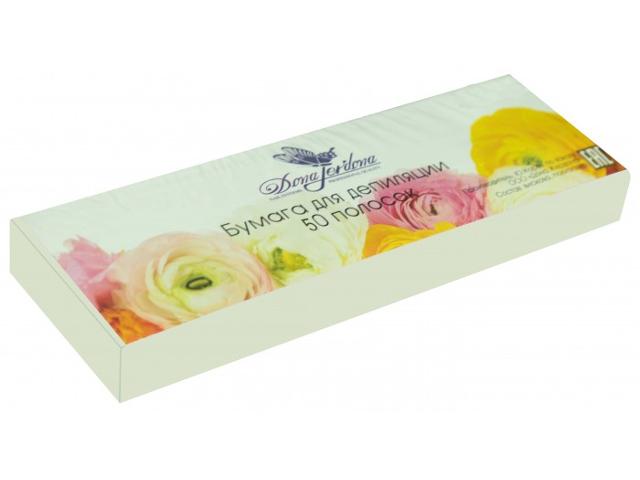 Домашний шугаринг Dona Jerdona Бумага для депиляции в полосках 50 штук White 101367