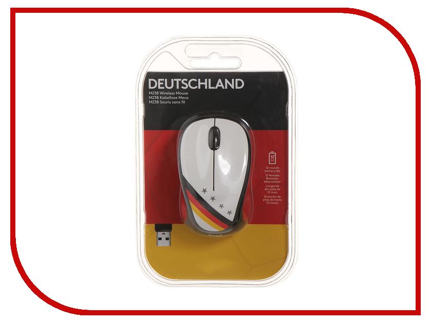 все цены на Мышь Logitech M238 Fan Collection Germany 910-005403 онлайн