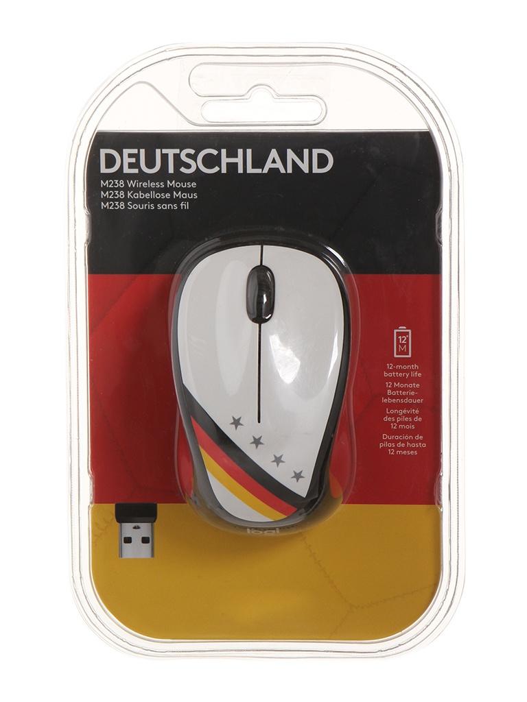 Мышь Logitech M238 Fan Collection Germany 910-005403 цены онлайн