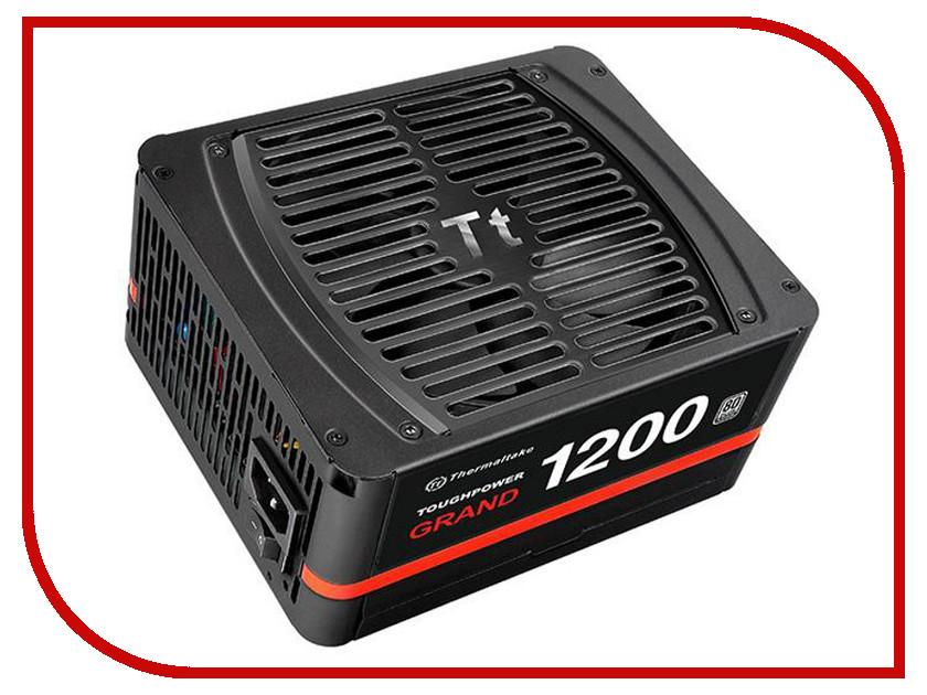 Блок питания Thermaltake Toughpower Grand 1200W Platinum PS-TPG-1200FPCPEU-P блок питания thermaltake atx 1200w amur