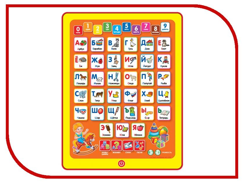 Планшет Умка Азбука А. Барто HX1598-BA обучающая игра умка азбука hx1598 ba
