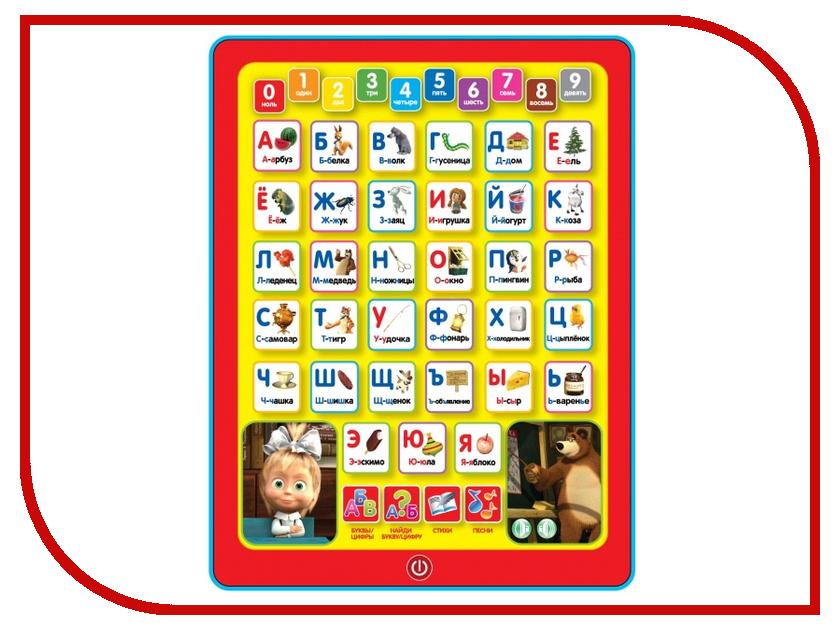 Планшет Умка Азбука Маша и Медведь HX1598-MAB планшет азбукварик планшет мультяшки повторяшки 4680019280158