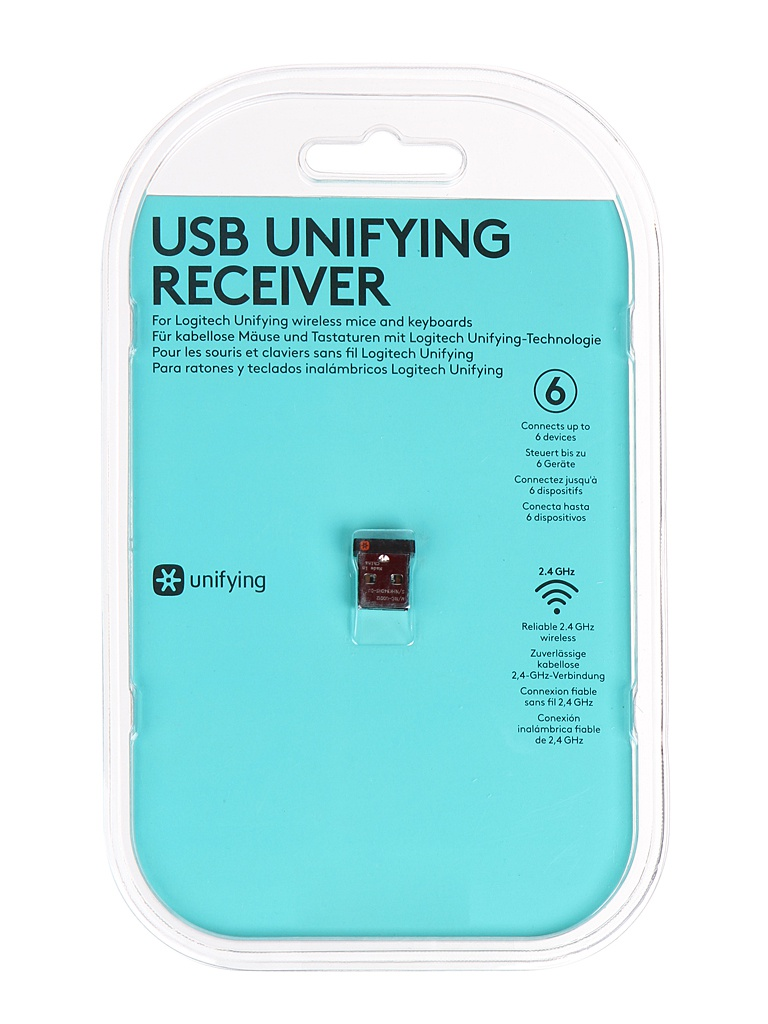 Приемник USB Logitech Unifying Receiver 910-005236