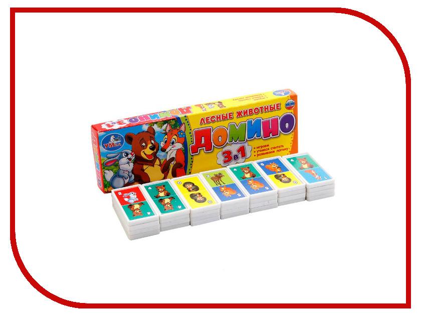 Купить Настольная игра Умка Домино Лесные животные 4690590112151, УМКА