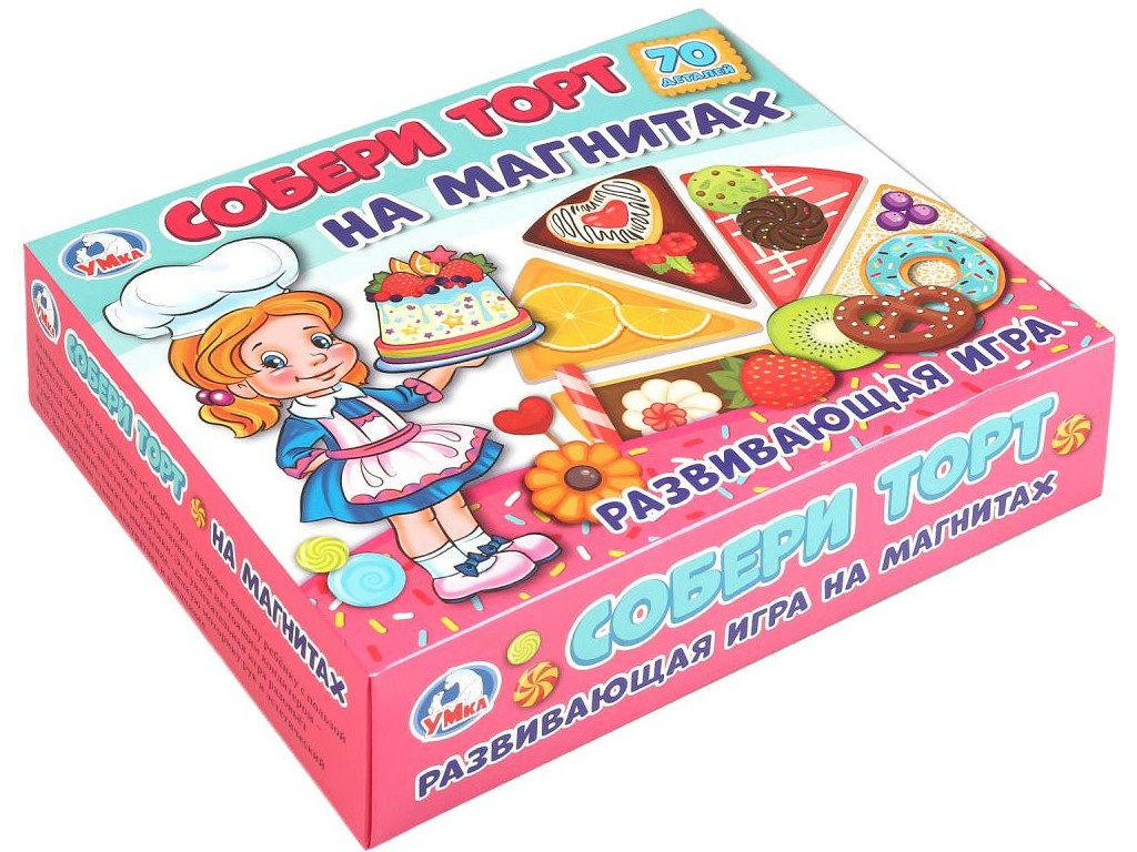 Настольная игра Умка Собери торт на магнитах 4690590144190 (8)
