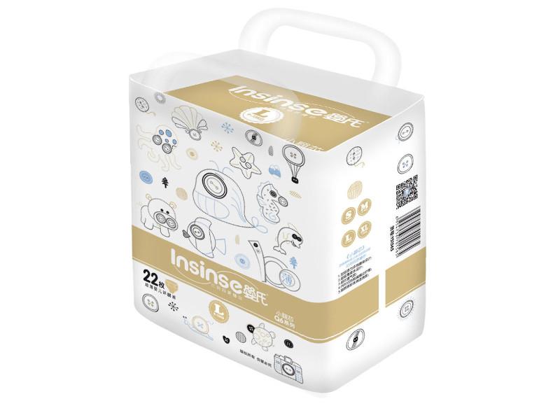 цена Подгузники Insinse Q6 L 9-13 кг 22шт онлайн в 2017 году
