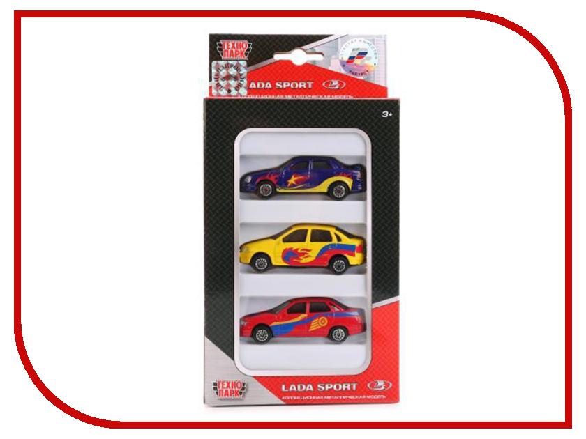 Игрушка Технопарк Lada в спорт окраске 3шт SB-16-79WB игрушка технопарк автобус ct10 025 sb