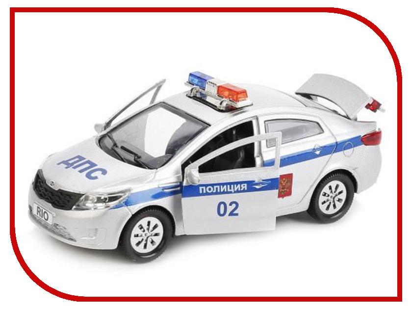 Игрушка Технопарк Kia Rio Полиция RIO-POLICE машины технопарк машина kia rio полиция