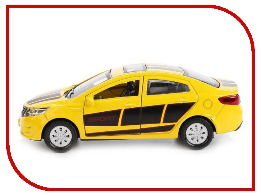Игрушка Технопарк Kia Rio RIO-SPORT машины технопарк машина kia rio полиция