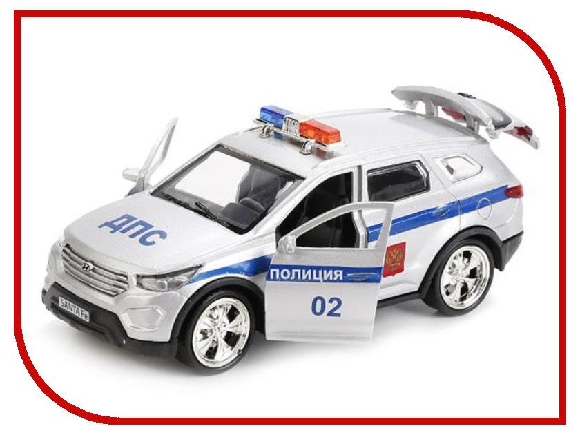Игрушка Технопарк Hyundai Santafe Полиция SANTAFE-POLICE машины технопарк машина hyundai santafe sport