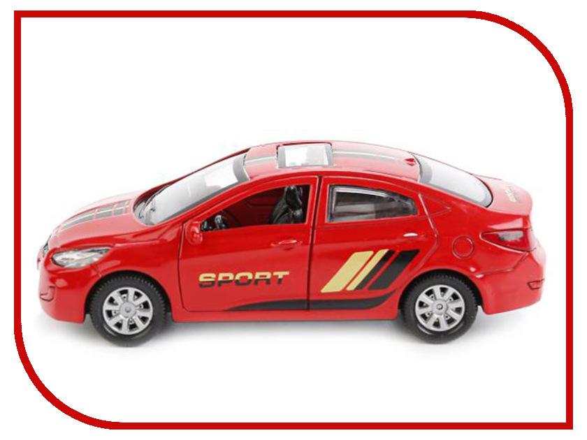 Игрушка Технопарк hyundai Solaris SOLARIS-SPORT машины технопарк машина hyundai santafe sport