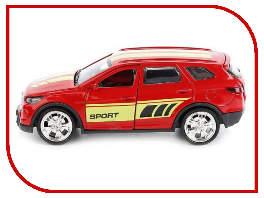 Игрушка Технопарк Hyundai Santafe SANTAFE-SPORT машины технопарк машина hyundai santafe sport