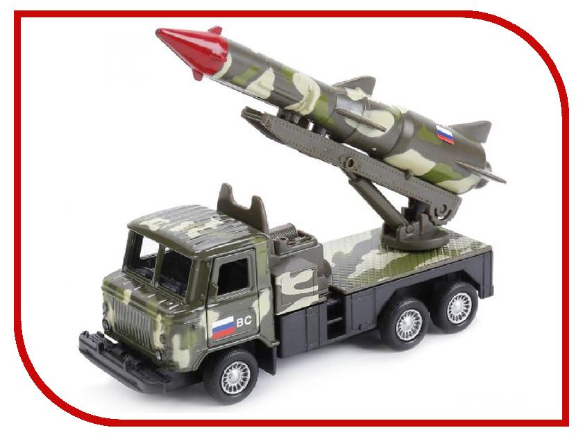 Игрушка Технопарк ГАЗ 66 С ракетой SB-16-78-2-WB игрушка технопарк lada в спорт окраске 3шт sb 16 79wb