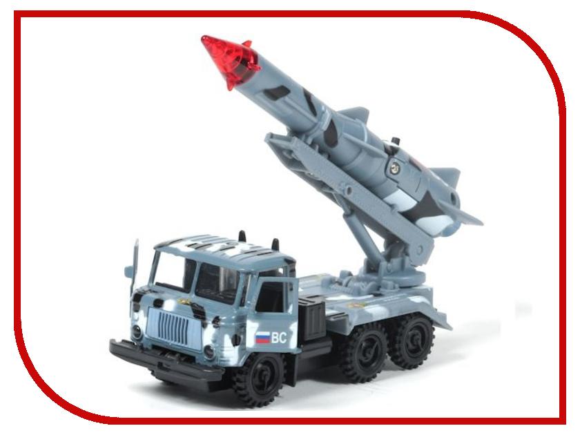 Игрушка Технопарк ГАЗ 66 С ракетой SB-16-78-1-WB игрушка технопарк lada в спорт окраске 3шт sb 16 79wb