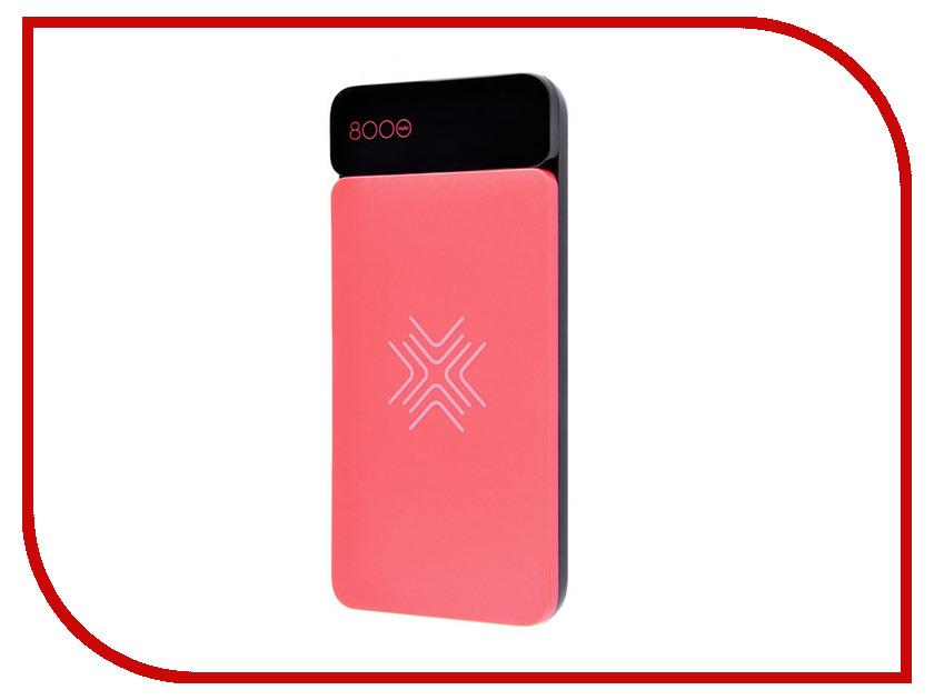 Аккумулятор Rock P38 8000mAh Red RMP0377 аккумулятор remax kand platinum rm1 009 8000mah white red
