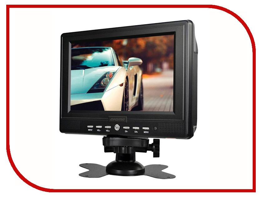Монитор в авто Digma DCL-700 автомобильный телевизор digma dcl 720 black