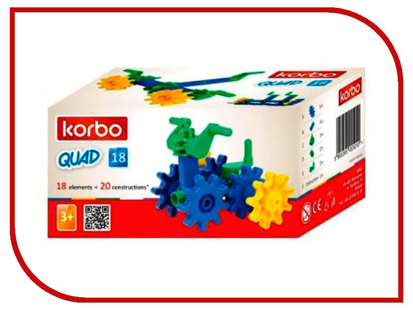Конструктор Korbo 18 Quad дет. R.1019E