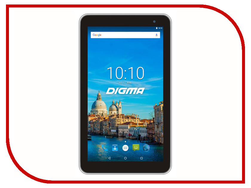 Планшет Digma Optima 7017N 3G White (MediaTek MT8321 1.3GHz/2048Mb/16Gb/3G/Wi-Fi/Bluetooth/GPS/Cam/7.0/1024x600/Android) mpie y12 3g phablet