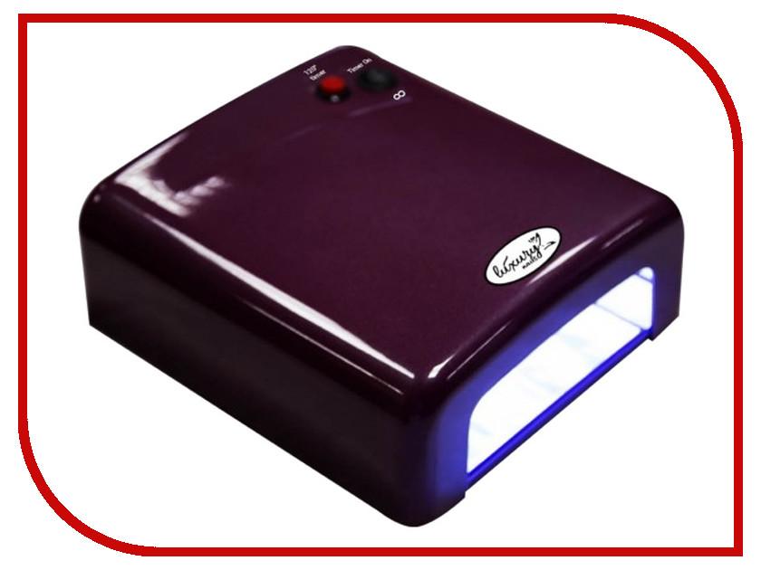 Лампа UV Dona Jerdona 818Р-8 36W Eggplant cnhids nail art base tool 36w led uv lamp