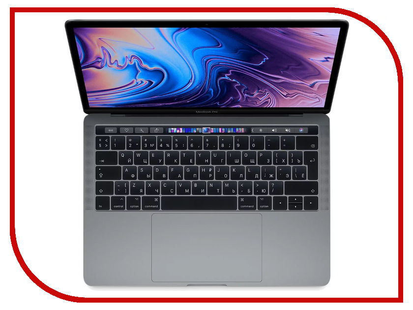 Ноутбук APPLE MacBook Pro 13 MR9Q2RU/A Space Grey (Intel Core i5 2.3 GHz/8192Mb/256Gb SSD/Intel HD Graphics 655/Wi-Fi/Cam/13/Mac OS)