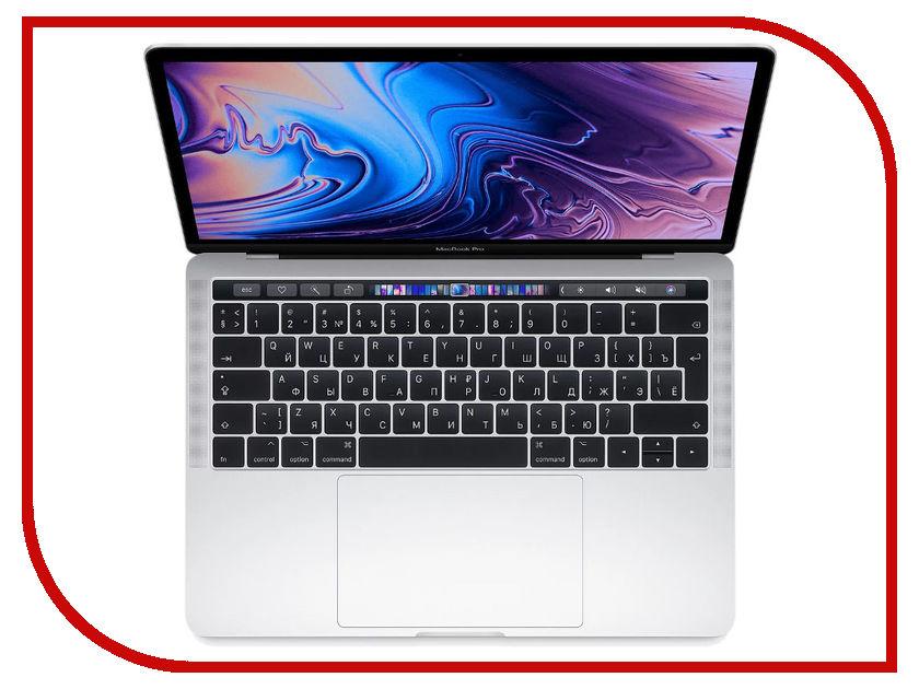 Ноутбук APPLE MacBook Pro 13 MR9U2RU/A Silver (Intel Core i5 2.3 GHz/8192Mb/256Gb SSD/Intel HD Graphics 655/Wi-Fi/Cam/13/Mac OS)