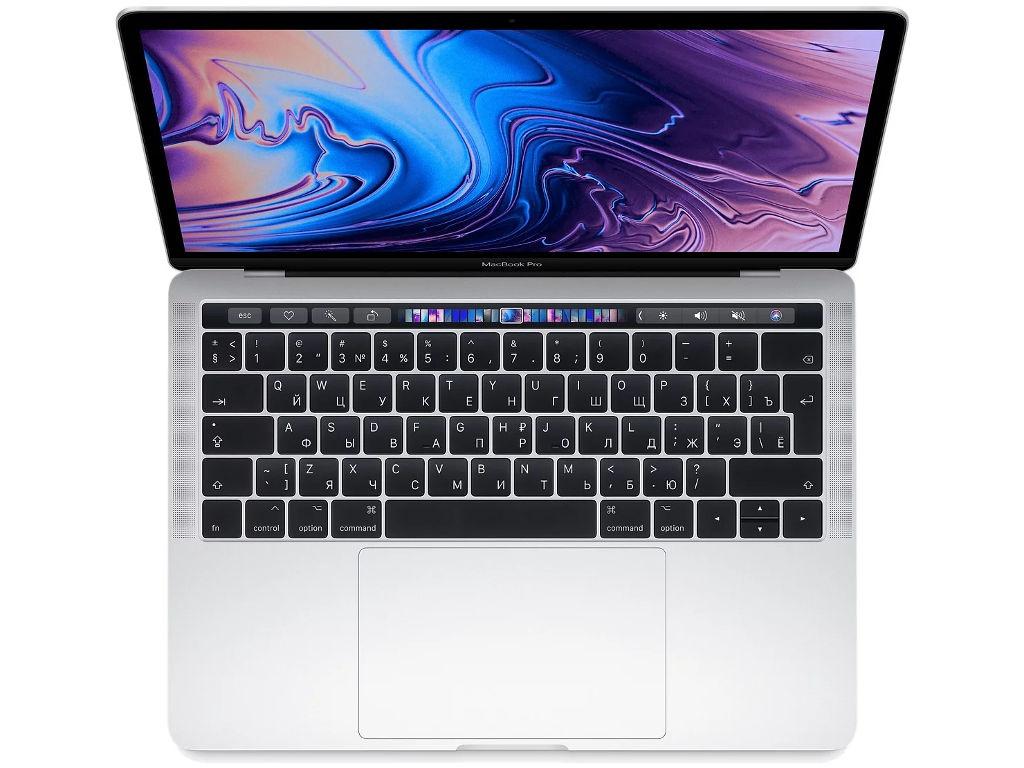 Ноутбук APPLE MacBook Pro 13 MR9U2RU/A Silver (Intel Core i5 2.3 GHz/8192Mb/256Gb SSD/Intel HD Graphics 655/Wi-Fi/Cam/13/Mac OS) цены онлайн