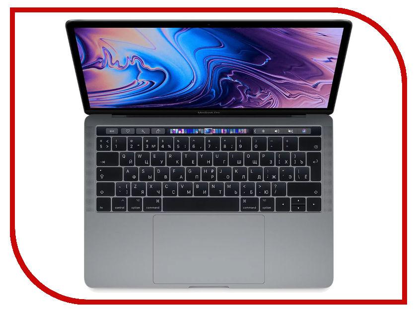 Ноутбук APPLE MacBook Pro 13 MR9R2RU/A Space Grey (Intel Core i5 2.3 GHz/8192Mb/512Gb SSD/Intel HD Graphics 655/Wi-Fi/Cam/13/Mac OS) ноутбук apple macbook air 13 mjvg2ru a intel core i5 5250u 1 6 ghz 4096mb 256gb no odd intel hd graphics 6000 wi fi bluetooth cam 13 3 1440x900 mac os x