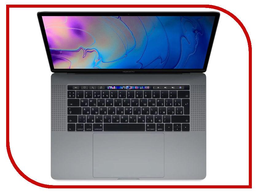 Ноутбук APPLE MacBook Pro 15 MR932RU/A Space Grey (Intel Core i7 2.2 GHz/16384Mb/256Gb SSD/AMD Radeon Pro 555X 4096Mb/Wi-Fi/Cam/15/Mac OS)