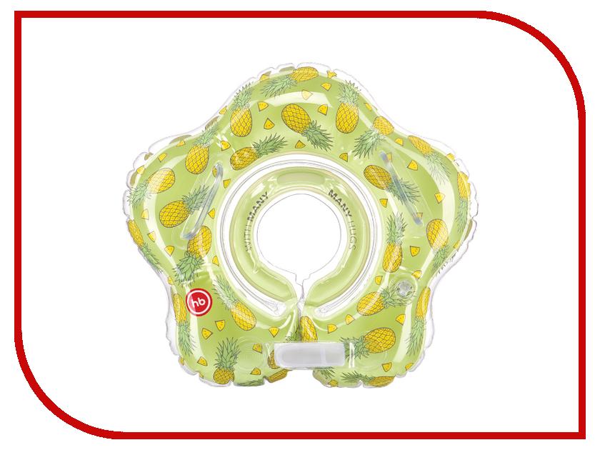 Круг для купания Happy Baby 121007 Aquafun Pineapple круг для купания младенцев flipper отзывы