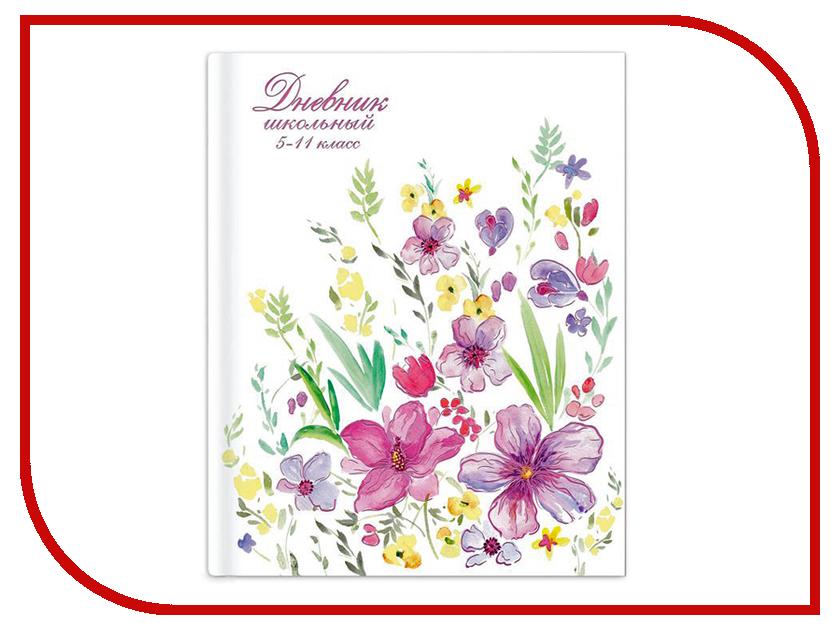 Дневник школьный для 5-11 класса Феникс+ Весенние цветы 46885 artspace дневник школьный золотые цветы