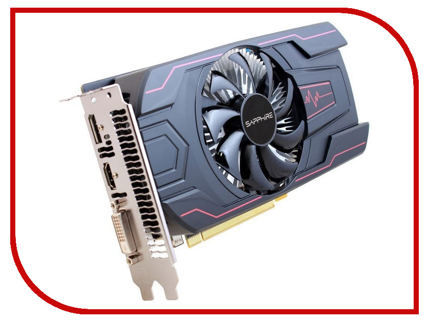 Видеокарта Sapphire Pulse Radeon RX 560 OC 1226Mhz PCI-E 3.0 2048Mb 6000Mhz 128 bit DP HDMI DVI HDCP 11267-22-20G original new 15 6 inch b156xtn03 6 b156xtn07 0 nt156whm n12 n156bge e42 lp156whufor laptop hd screen