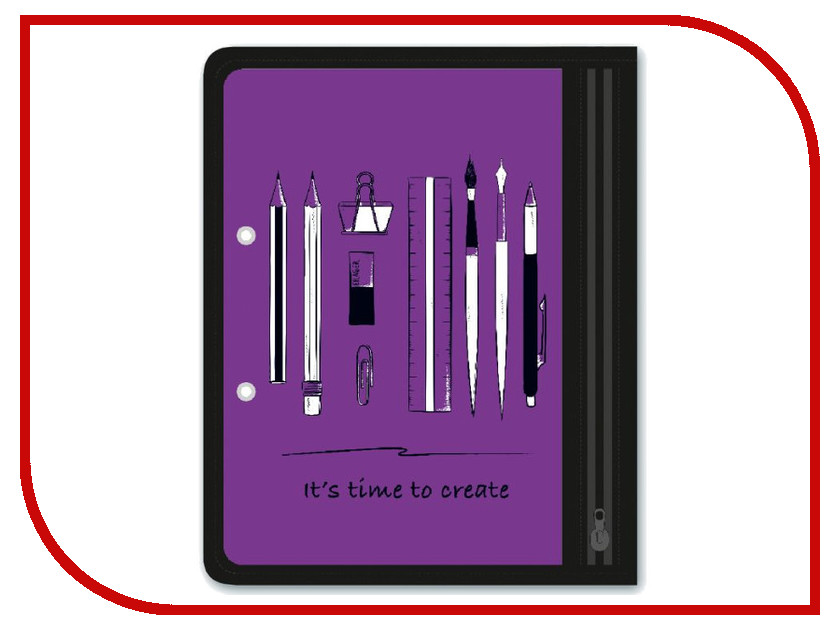Папка Феникс+ Канцелярия A5 25.5x20.5cm Violet 46710 автомагнитола cd kenwood kdc 172y 1din 4x50вт