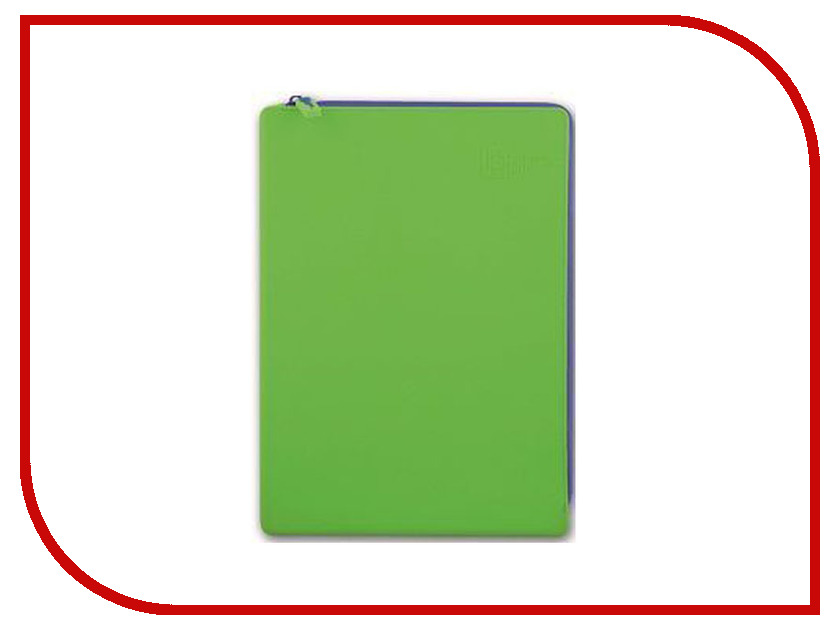 Папка Феникс+ A4 24x33cm Green 40264 феникс 33845