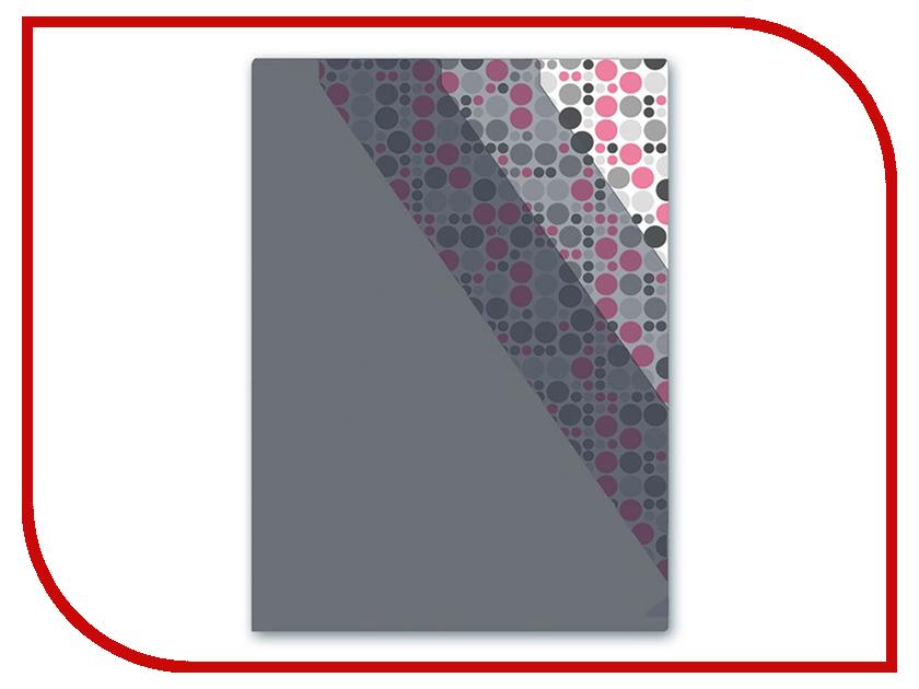 Папка Феникс+ Горох A4 22x31cm 47024 папка для документов феникс a4 33x23 3 black 41696