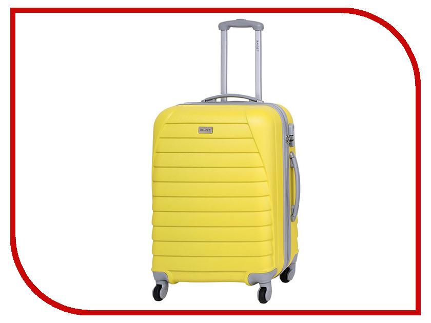 Чемодан Baudet BHL0401508 h-60cm 64L Yellow