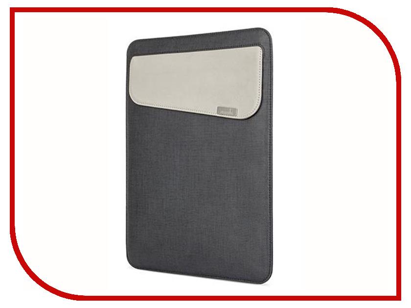 Аксессуар Чехол 13.0-inch Moshi Muse для APPLE MacBook Air Black 99MO034004 защитная пленка для ноутбука moshi ivisor air 11 13