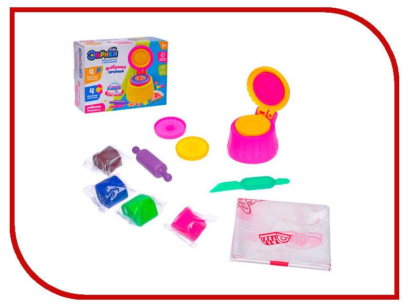 Набор для лепки Эврики Набор для игры с пластилином Фабрика печенья 2800395