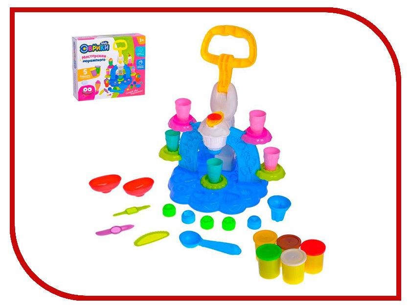 Набор для лепки Эврики Набор для игры с пластилином Фабрика мороженого 2800394