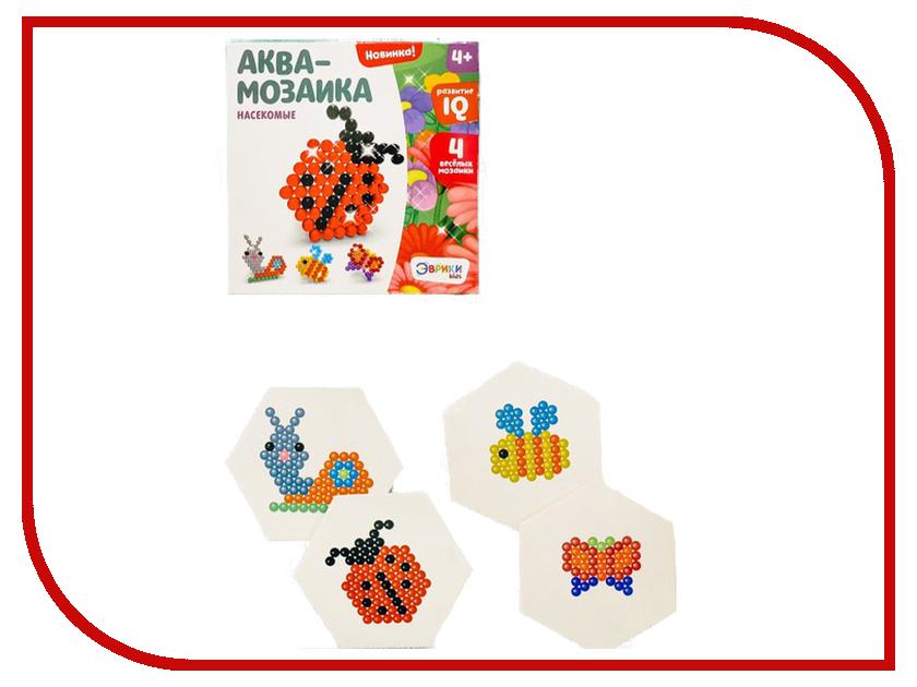Настольная игра Эврики Аквамозаика Насекомые 2933730 насекомые клещи