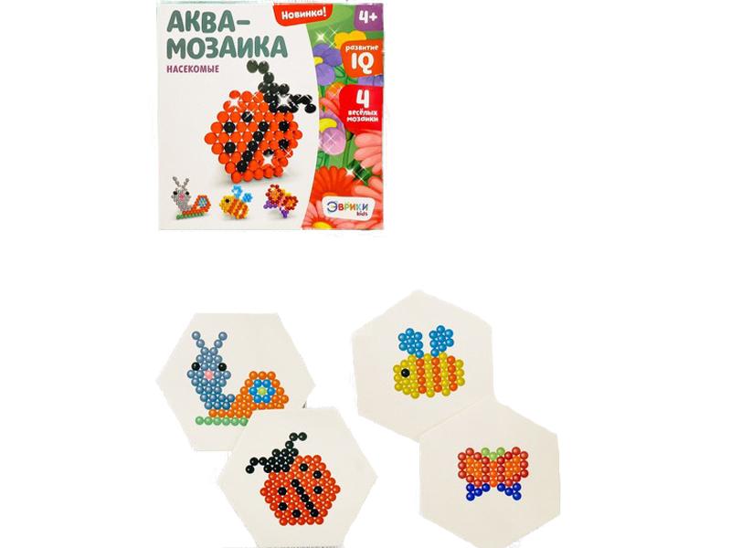 Настольная игра Эврики Аквамозаика Насекомые 2933730