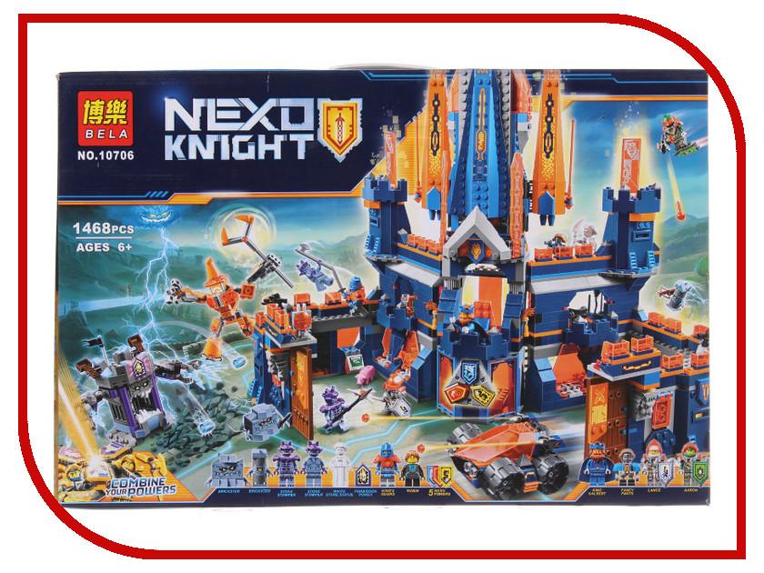 Конструктор Lele Nexo Soldiers 32028 Королевский замок Найтон конструктор lego nexo knights 70357 королевский замок найтон