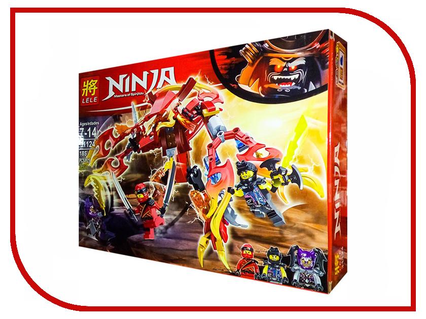 Конструктор Lele Ninja Нападение Ультрафиолет 185 дет. 31124