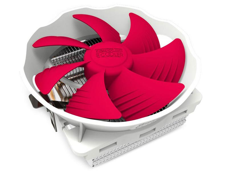 Кулер PCcooler Q126 (Intel LGA775/LGA1150/1151/1155/1156/LGA1356/1366/AMD AM2, AM2+/AM3/AM3+/FM1/AM4/FM2/FM2+) кулер cooler master v8 gts rr v8vc 16pr r2 intel lga2011 lga2011 3 lga1366 lga1150 1151 lga1155 lga1156 lga775 amd fm1 fm2 fm2 am2 am2 am3 am3